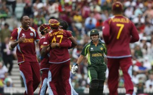 Pakistan Vs West Indies Champions Trophy 2013 Photo