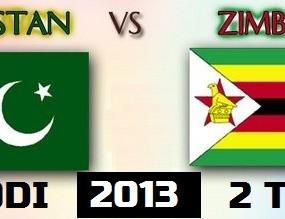 Pakistan- Vs Zimbabwe