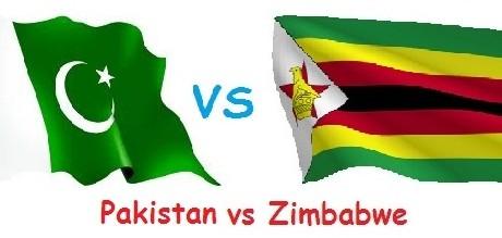 Pakistan- Vs Zimbabwe 2013