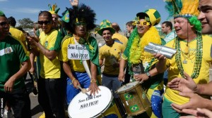 Opening Ceremony of Football World Cup Starts in Brazil Tonight