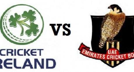 Ireland vs UAE