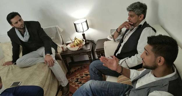 Amir Khan & Shahid Afridi