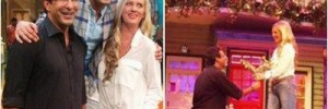 Wasim Akram Attended Indian TV Show and Proposed His Wife Shaniera