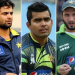 Shahid Afridi, Ahmed Shahzad and Umar Akmal