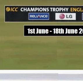 Pak Vs India ICC Champions Trophy 2017 04 June