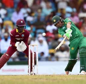 Pakistan Beats host West Indies in 1st T20 match