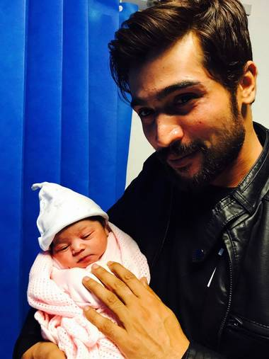 Blessing of Daughter for Muhammad Amir