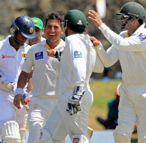 Pak Test Squad against Sri Lanka