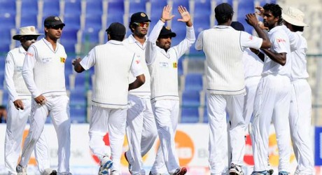 Sri Lankan Test Squad Against Pak
