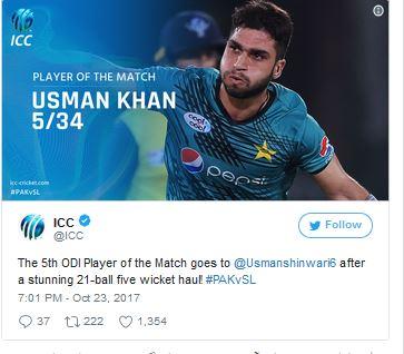 Usman Shinwari Record Breaking Bowling