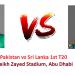 Pakistan v Sri Lanka