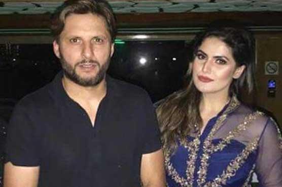 Afridi & Zarin Khan