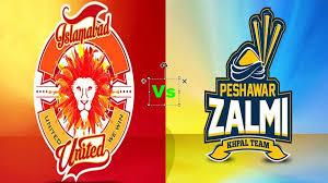 Islamabad United vs Peshawar Zalmi