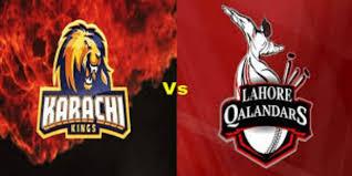 Karachi Kings vs Lahore Qalandars