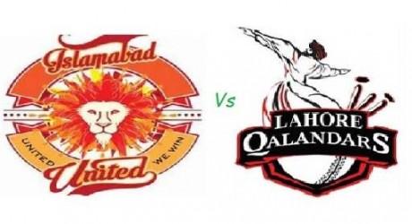 Lahore Qalandars vs Islamabad