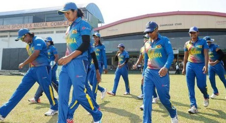 srilankan women team