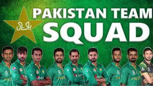 pak team Squad