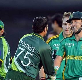 Team pakistan & South Africa