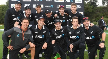 This is the New Zealand Squad for Crick