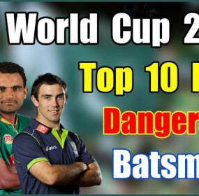 Babar Azam in Top 10 Most Dangerous Batsmen List