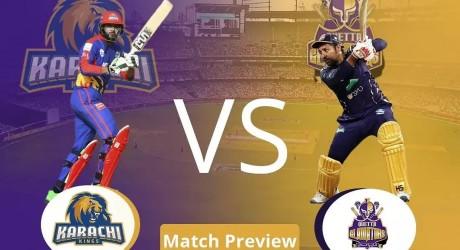 Karachi Kings Vs Quetta Gladiators PSL 6 2021